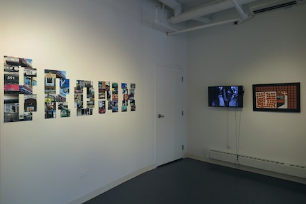 Installation view: <em>Celebrating 25 Years of Project 59: A Retrospective of Ukrainian-American Artist Irina Danilova</em>, Bronx River Art Center, 2020. Courtesy the Bronx River Art Center.
