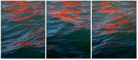 Melissa McGill, <em>Riflessi (Red Regatta - September 1, 2019)</em>, 2019. Digital pigment print (part of a triptych). Courtesy TOTAH.