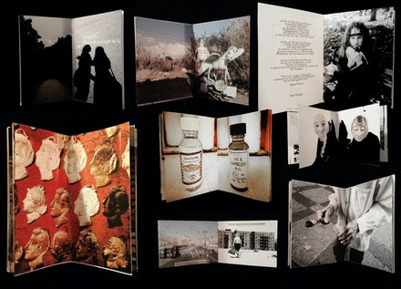 Collage of multiple issues of <em>As Far As the Eye Can Travel</em> Photo: Chiara Ambrosio (used with permission)