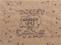 Title card by Vicki Ferrell and Marlene McCarty for Meek's Cutoff. Image: Oscilloscope Laboratories.