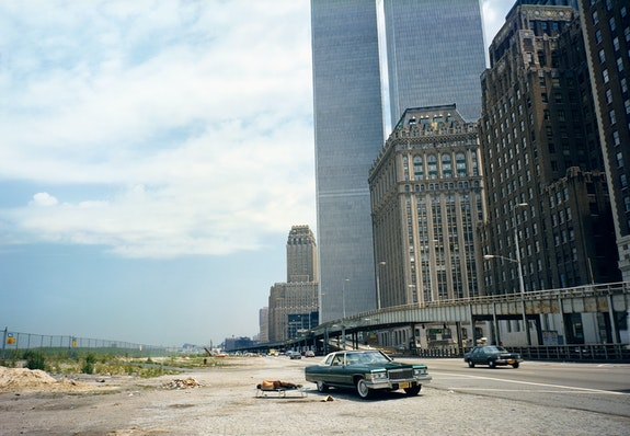 Mitch Epstein, <em>West Side Highway, New York, 1977</em>. Courtesy Sikkema Jenkins & Co., New York.