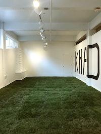 Khadija Tarver, <em>A circle made by walking</em> (2018). Installation view. Courtesy of the artist.