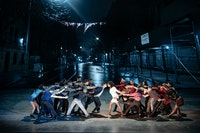 The cast of <em>West Side Story</em>. Photo: Jan Versweyveld