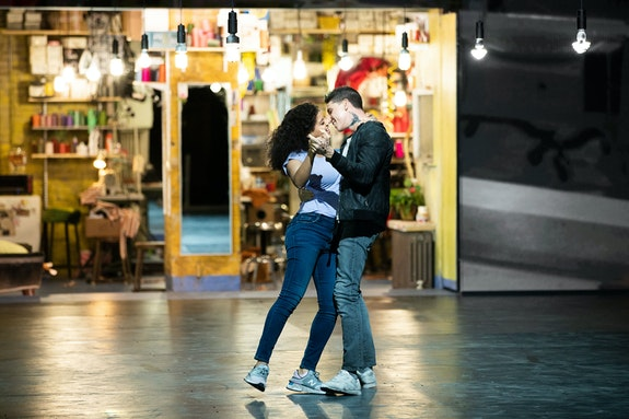 Shereen Pimentel, Isaac Powell in <em>West Side Story</em>. Photo: Jan Versweyveld