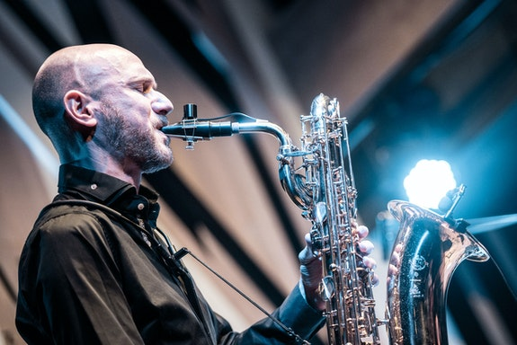 Peter van Huffel. Photo by Lajos Somogyi/Bands Through The Lens/Budapest Music Center.