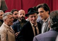 Carlo Cecchi and Luca Marinelli in a scene from <em>Martin Eden</em>. Photo: Francesca Errichiello, courtesy Kino Lorber.