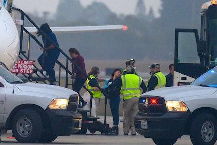 Deporting asylum seekers back to danger, Brownsville International Airport. Photo: Allan Mestel