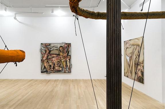 Installation view: <em>Jana Euler: Unform</em>, Artists Space, New York, 2020. Courtesy Artists Space, New York. Photo: Daniel Pérez