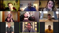 Titan Creative Conversations screen grab from the conversation 3/27. Courtesy Lenny Banovez.