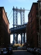 <i>Photo of DUMBO, facing west, by Peter Krebs.</i>