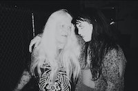 Genesis Breyer P-Orridge and Leigha Mason. Courtesy the author.