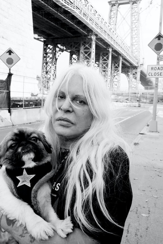 Genesis Breyer P-Orridge, New York, 2013. © Carl Abrahamsson.