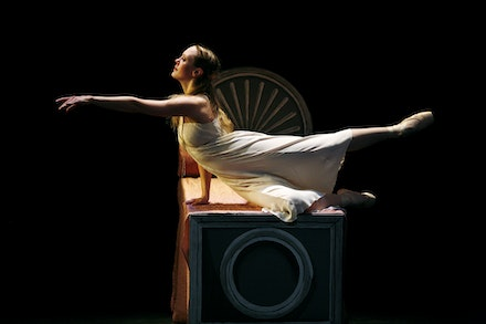 Elena Zahlman in New York Theatre Ballet's <em>Romeo & Juliet.</em> Photo: Julieta Cervantes