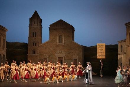 Bolshoi Ballet's <em>Marco Spada.</em> Photo: Damir Yusupov