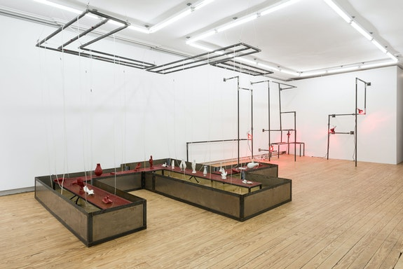 Azza El Siddique, <em>Begin in smoke, End in ashes Pt. II</em>, 2019. Image: courtesy of Helena Anrather, New York
