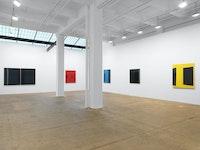 Installation view, <em>Kate Shepherd: Surveillance</em>, Galerie Lelong & Co., New York, 2020. Courtesy Galerie Lelong & Co., New York.