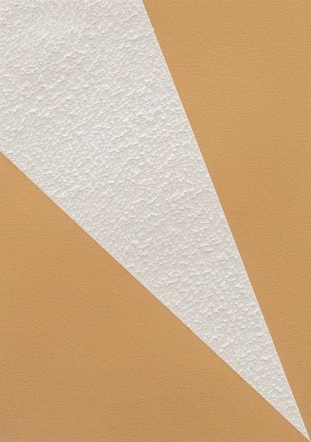 Mohammed Kazem, <em>Sound of Angles No 13</em>, 2020. Scratches on inkjet print on Hahnemuhle paper, 16 1/2 x 11 1/2 inches. Courtesy Gallery Isabelle van den Eynde, Dubai.