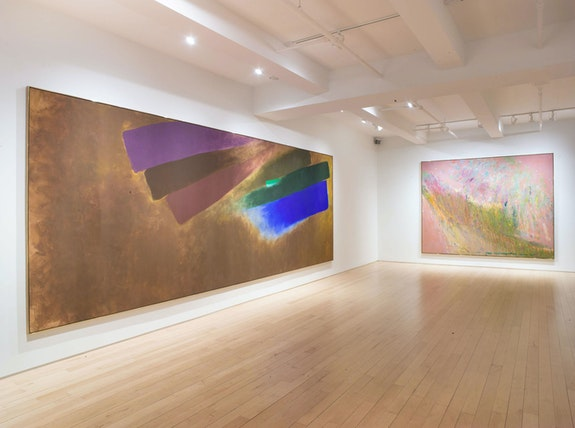 Installation view, <em>Leap of Color</em>, Yares Art, New York, 2020. Courtesy Yares Art.