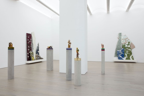 Installation view: <em>Bharti Kher: The Unexpected Freedom of Chaos</em>, Perrotin Gallery, New York, 2020. Courtesy the artist and Perrotin.