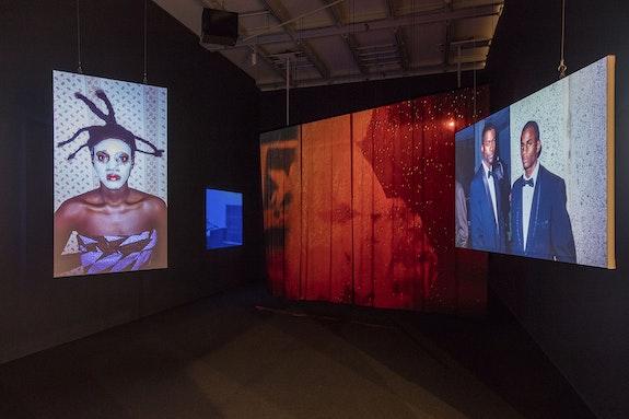 Lyle Ashton Harris, <em>Ektachrome Archives (New York Mix)</em>, 2017 Three-channel high-definition video, color, sound Edition of 3, 1 Ap. Courtesy of the Artist and Salon 94, New York. © Lyle Ashton Harris