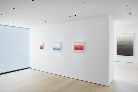 Installation image: <em>Minjung Kim</em>, at the Hill Art Foundation, 2020. Image Courtesy Hill Art Foundation.