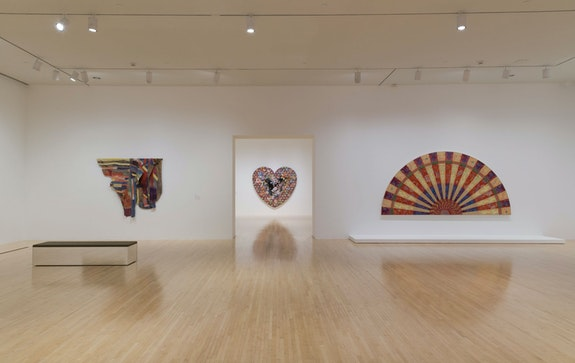 Installation view: <em>With Pleasure: Pattern and Decoration in American Art, 1972-1985</em>, MOCA Grand Avenue, Los Angeles, 2020. Courtesy The Museum of Contemporary Art. Photo: Jeff Mclane.