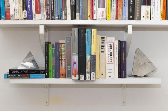 Author's bookshelf. Photo: Sophia Sobers