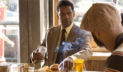 Denzel Washington in <i>American Gangster</i>. <i>Photo courtesy of Universal Studios.</i>