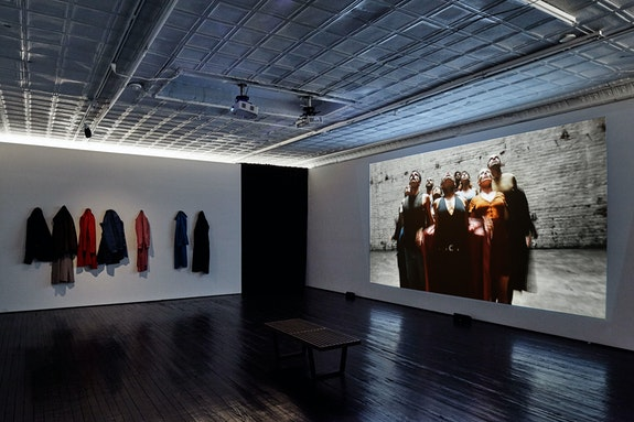 Installation view: <em>Cortney Andrews: I See You</em>, Jack Hanley Gallery, New York. Courtesy the artist.