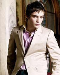 Ed Westwick as Heir Apparent to William Kennedy Smith.