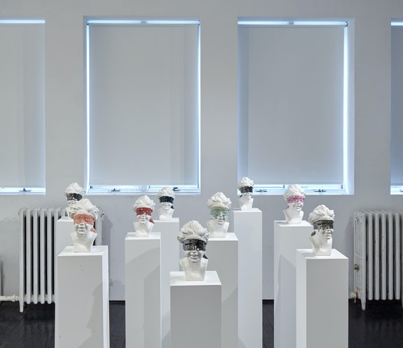 Installation view:<em>Cortney Andrews: I See You</em>, Jack Hanley Gallery, New York. Courtesy the artist.