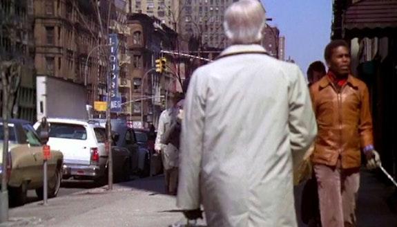 Diane Nerwen, <em>Traveling Shots: NYC</em>, color, sound, 15:56. Courtesy carriage trade.
