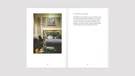 Pages from Sara Magenheimer, <em>Beige Pursuit</em>, published by Wendy's Subway, New York, 2019.