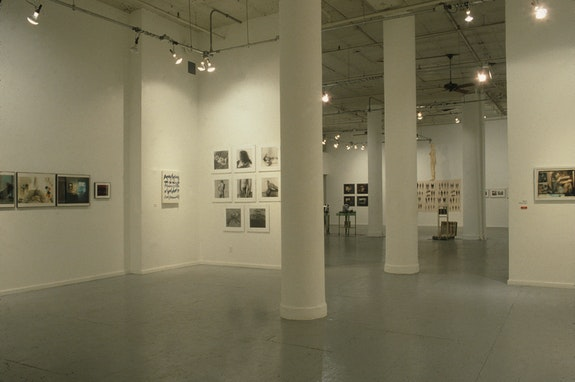 Installation view: <em>Witnesses: Against Our Vanishing</em>, Artists Space, 1989. Courtesy Artists Space, New York. Photo: Frances Miller Smith.