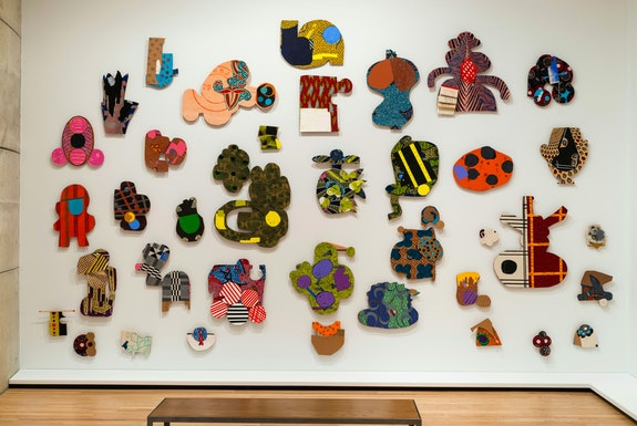 Installation view: <em>Jo Smail: Flying With Remnant Wings</em>, Baltimore Museum of Art, 2020. Courtesy the Baltimore Museum of Art.