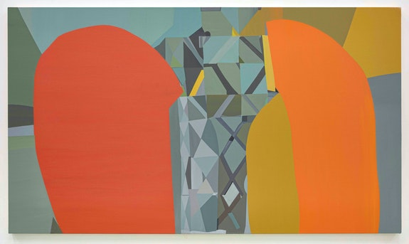 Mike Childs, <em>A Long Walk</em>, 2020. Acrylic on canvas, 38 x 66 inches. © Mike Childs. Courtesy David Richard Gallery.