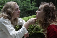 Elisabeth Moss and Odessa Young in Josephine Decker's <em>Shirley</em>. Courtesy of Neon.