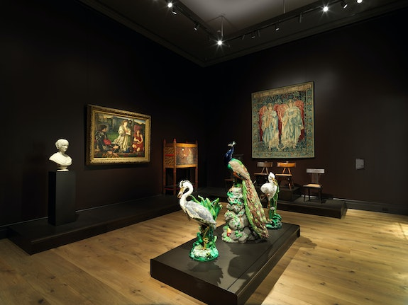 Installation view of the Met's New British Galleries. Photo: Richard Lee, February 2020. Courtesy The Metropolitan Museum of Art.