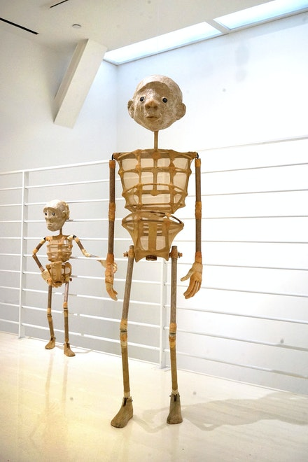 Installation view:  <em>Mulyana & Iwan Effendi: Jumping the Shadow</em>,  Sapar Contemporary, New York, 2020. Courtresy the artist and Sapar Contemporary.