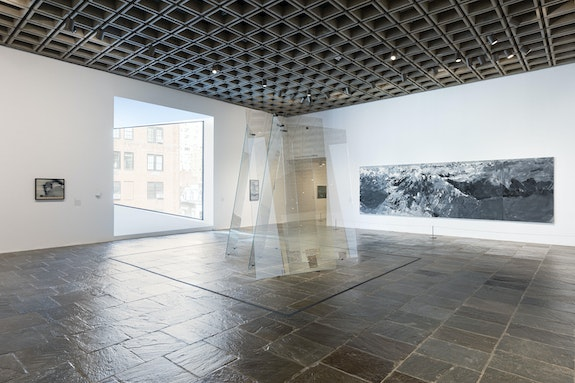 Installation view: <em>Gerhard Richter: Painting After All</em>, the Metropolitan Museum of Art, Breuer building. Courtesy the Metropolitan Museum of Art, New York.