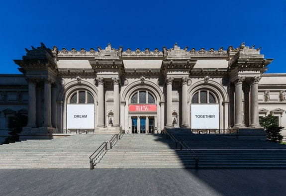 Yoko Ono, <em>DREAM TOGETHER</em>, 2020, installation view, The Metropolitan Museum of Art, New York. © Yoko Ono. Courtesy the Metropolitan Museum of Art. Photo: Anna-Marie Kellen.