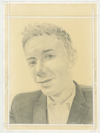 Dr. Elizabeth Bishop. Pencil on paper by Phong H. Bui