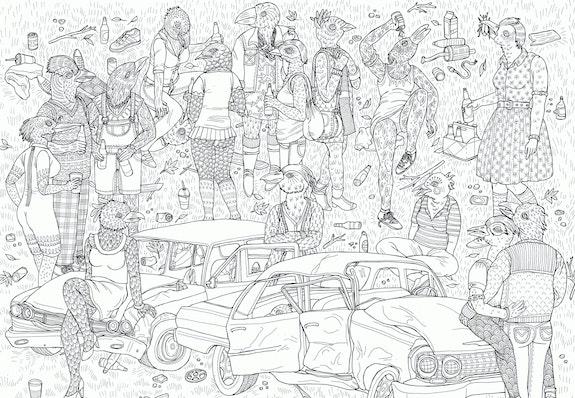 From I Want You, copyright Lisa Hanawalt, courtesy Drawn & Quarterly.