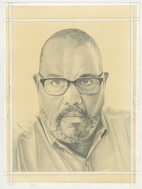 Dawoud Bey. Pencil on Paper by Phong H. Bui