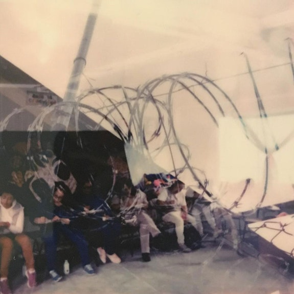 Rizoma. November 12, 2019. Double Exposure Polaroid by Ambrose Bye.