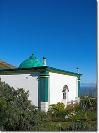 Muslim kramat atop Cape Town's Signal Hill. Photo by Garylyn via flickr.