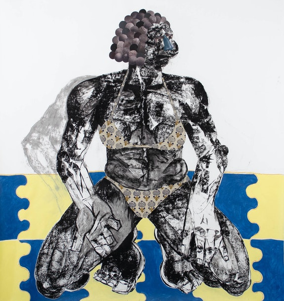 Clotilde Jimeénez, <em>Pose No. 7</em>, 2020. Courtesy the artist and Mariane Ibrahim.