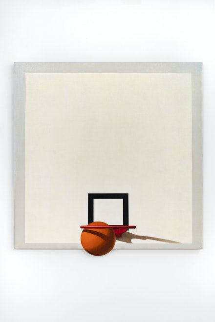 Barkley Hendricks, <em>Still Life #5</em>, 1968. Oil on canvas, 51 7/8 x 53 x 1 5/8 inches. © Estate of Barkley L. Hendricks. Courtesy the artist's estate and Jack Shainman Gallery, New York.
