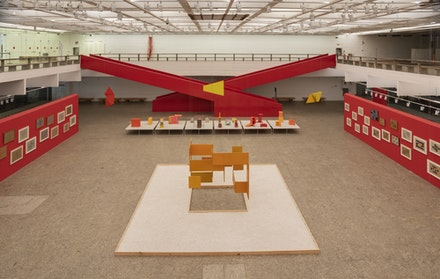 Installation view: <em>Hélio Oiticica: Dance in My Experience</em> São Paulo Museum of Art, 2020. Photo: Eduardo Ortega.