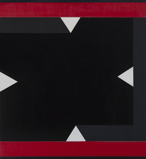 Don Voisine, <em>Spectre</em>, 2014. Oil on wood panel, 24 x 22 inches. Courtesy Pamela Salisbury Gallery, Hudson, NY.